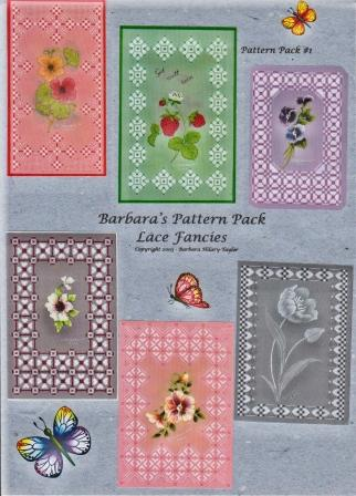 Barbara Hilary Taylor Parchment Craft Pattern Packs Wightcat Crafts Newport Isle of Wight